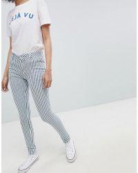 Urban Bliss - Striped Skinny Jeans - Lyst