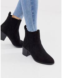 f3aa86ee8ff Heeled Boots In Black