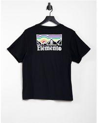 Element Landscape T-shirt - Black