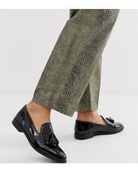 House Of Hounds Wide Fit Pointer Loafers - Black