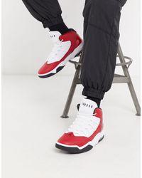 Jordan Max Aura Cuir Nike pour homme en coloris Noir - Lyst