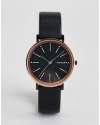 Skagen - Women's Leather Watch - Lyst