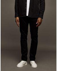 TOPMAN Smalle Stretch Jeans - Zwart