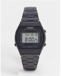 G-Shock Черные Электронные Часы Из Нержавеющей Стали -черный Цвет