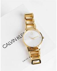 Calvin Klein Montre-bracelet - Métallisé