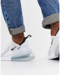 Nike Air Max 270 Trainers In White Ah8050-100