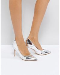 KG by Kurt Geiger | Kg By Kurt Geiger Bella Leather Court Shoes | Lyst
