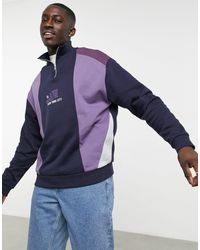 ASOS - Sudadera violeta - Lyst