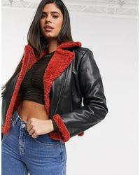 Ivyrevel Черная Куртка С Красной Отделкой -черный