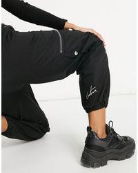 The Couture Club Pantalon cargo - Noir