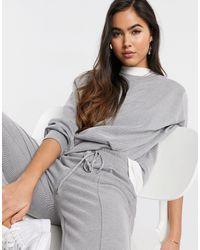 Mango Co Ord sweatpants - Grey