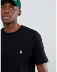 Carhartt WIP - Chase Fit T-shirt In Black - Lyst