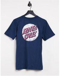 Santa Cruz Speckled Dot T-shirt - Blue
