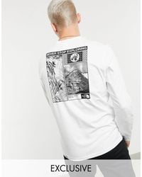 The North Face Story Long Sleeve T-shirt - White