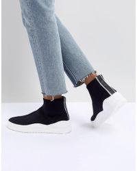 Bronx - Black Sock Trainers - Lyst