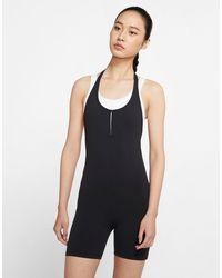 Nike Luxe Halter Jumpsuit - Black