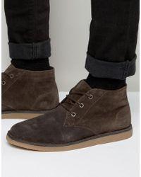 Lacoste Bradshaw Chukka Boots - Brown