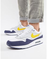 sports shoes 793d3 22732 where can i buy nike air max 1 trainers in white ah8145 105 in white for
