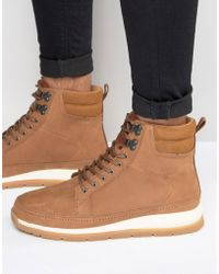 Boxfresh - Loadha Leather Boots - Lyst