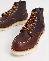 Red Wing Коричневые Кожаные Ботинки Высотой 6 Дюймов Classic-коричневый