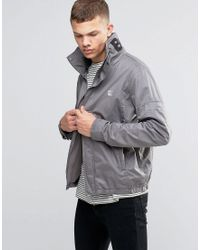 Bench Funnel Neck Jacket In Grey