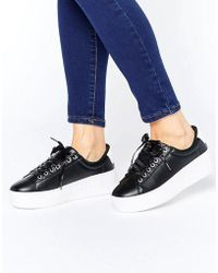 Truffle Collection - Truffle Hell Yeah Flatform Sneakers - Lyst