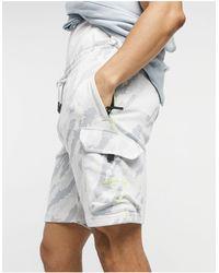Marshall Artist Camo Jersey Shorts - Grey