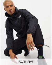 The North Face - Черная Куртка-анорак Wind Anorak Эксклюзивно Для Asos-черный Цвет - Lyst
