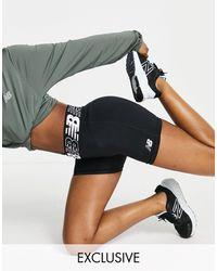 New Balance Training - Relentless - 5inch Lange Shorts - Zwart