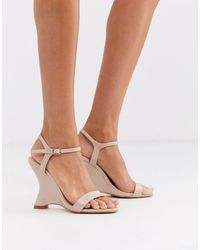 Missguided Patent Wedge Heels - Multicolour