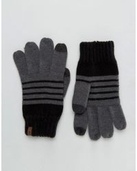 Timberland Touch Screen Gloves - Gray