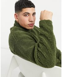 ASOS Oversized Track Top - Green