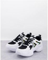 Truffle Collection – wide fit – sportliche laufsneaker - Weiß