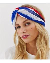 Esprit Red And Blue Headband