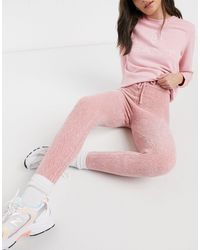 In The Style Розовые Вязаные Джоггеры На Шнурке От Комплекта X Billie Faiers-розовый