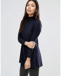 AX Paris - Turtle Neck Knitted Swing Top - Lyst