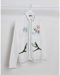 ASOS Cotton Overshirt - White