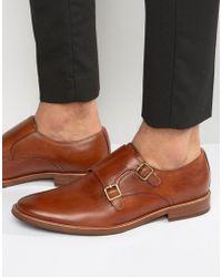 ALDO - Henacien Leather Monk Shoes - Lyst