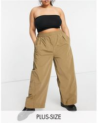 Collusion - Plus Wide Leg jogger - Lyst