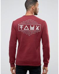 Friend or Faux - Limitless Back Print Jumper - Lyst