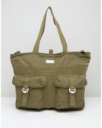 adidas Originals Tote Bag In Green Ay8668