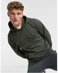 Umbro - Sudadera con capucha verde Tsunami - Lyst