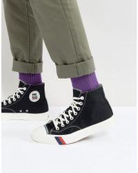 Pro Keds Zapatillas de lona hi-top Royal de - Negro