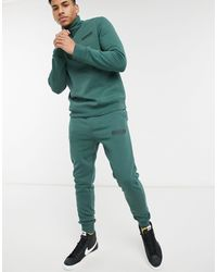 Another Influence Logo Tracksuit - Green