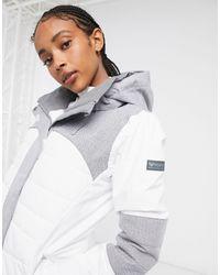 Roxy Chaqueta para la nieve en blanco luminoso Dakota