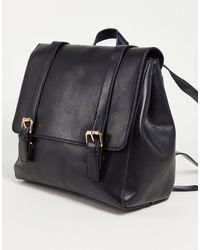 ASOS Satchel Backpack - Black