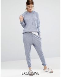 Stitch & Pieces - Knitted Joggers - Lyst