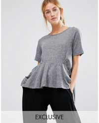 Stitch & Pieces - Ruffle Top - Lyst