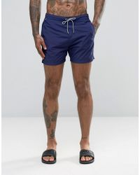 Scotch & Soda Scotch And Soda Basic Swim Shorts - Blue