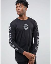 LONG Clothing | Long X Deathface Long Sleeve Band T-shirt | Lyst
